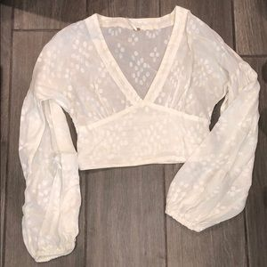 free people long sleeve crop